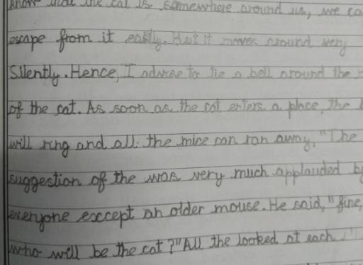 Handwriting Classes